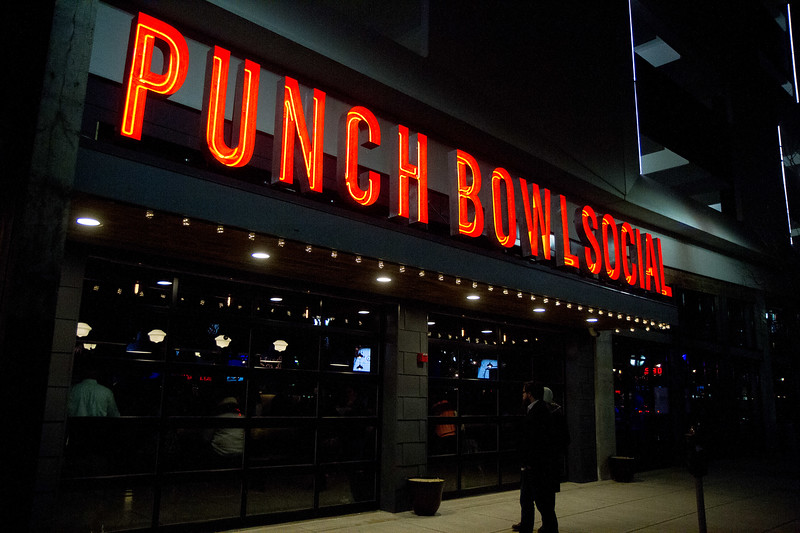 Punch Bowl Social Grand Opening