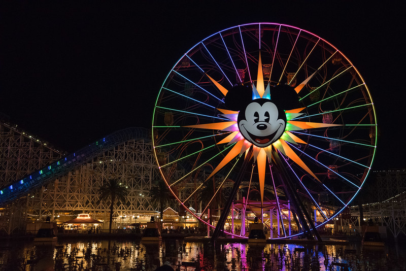 Wheel of Screams and World of Color